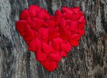 κόκκινοι βαλεντίνοι καρ&de Στοκ Εικόνα