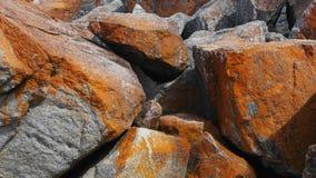 κόκκινοι βράχοι απόθεμα βίντεο