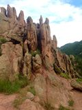 κόκκινοι βράχοι Στοκ Εικόνες