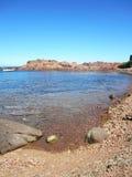 κόκκινοι βράχοι Στοκ Φωτογραφία