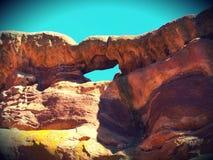 Κόκκινοι βράχοι Rockin Στοκ εικόνες με δικαίωμα ελεύθερης χρήσης