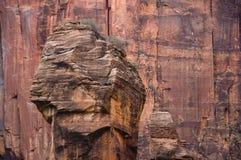 κόκκινοι βράχοι zion Στοκ Εικόνα
