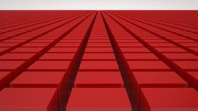 Κόκκινοι κύβοι Στοκ φωτογραφίες με δικαίωμα ελεύθερης χρήσης