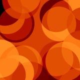 Κόκκινοι κύκλοι διανυσματική απεικόνιση