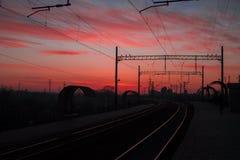 κόκκινοι ουρανοί Στοκ εικόνες με δικαίωμα ελεύθερης χρήσης
