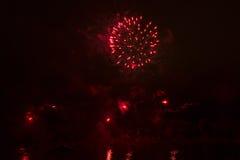 Κόκκινοι φωτισμοί Στοκ Εικόνες