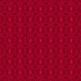 κόκκινος άνευ ραφής διακ&o Στοκ εικόνα με δικαίωμα ελεύθερης χρήσης