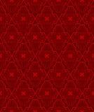 κόκκινος άνευ ραφής προτύπ& Στοκ εικόνα με δικαίωμα ελεύθερης χρήσης