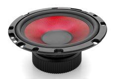 κόκκινος ήχος Στοκ φωτογραφία με δικαίωμα ελεύθερης χρήσης