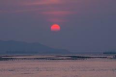 κόκκινος ήλιος Στοκ εικόνα με δικαίωμα ελεύθερης χρήσης