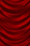 Κόκκινος λαμπρός στενός επάνω σύστασης μεταξιού ελεύθερη απεικόνιση δικαιώματος