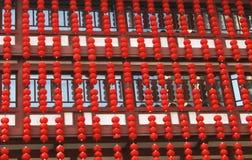 Κόκκινος λαμπτήρας Στοκ Εικόνα