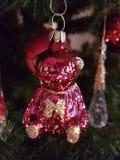 Κόκκινος αντέξτε τα Χριστούγεννα χριστουγεννιάτικων δέντρων Στοκ Εικόνα