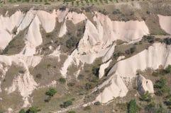 Κόκκινος αυξήθηκε κοιλάδα, Goreme, Cappadocia, Τουρκία Στοκ εικόνα με δικαίωμα ελεύθερης χρήσης