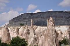 Κόκκινος αυξήθηκε κοιλάδα, Goreme, Cappadocia, Τουρκία Στοκ Φωτογραφίες