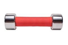 Κόκκινος αλτήρας 1 κλ σε ένα άσπρο υπόβαθρο Στοκ Εικόνες
