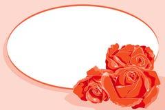 κόκκινος βαλεντίνος τρι&a απεικόνιση αποθεμάτων