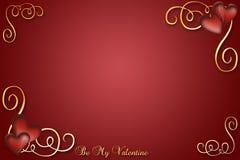 κόκκινος βαλεντίνος απεικόνιση αποθεμάτων