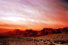 κόκκινος βράχος της Νεβάδας φαραγγιών Στοκ Φωτογραφίες
