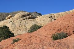 κόκκινος βράχος της Νεβά&delta στοκ φωτογραφία με δικαίωμα ελεύθερης χρήσης