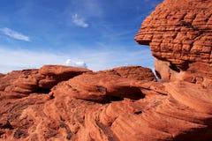 κόκκινος βράχος φαραγγιώ Στοκ εικόνα με δικαίωμα ελεύθερης χρήσης