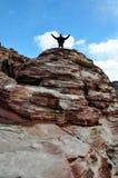 κόκκινος βράχος φαραγγιώ Στοκ εικόνες με δικαίωμα ελεύθερης χρήσης