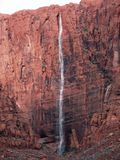 κόκκινος βράχος χίλια ποδιών καταρράκτης στοκ εικόνα με δικαίωμα ελεύθερης χρήσης