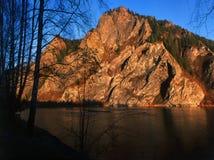 κόκκινος βράχος Στοκ Εικόνα
