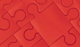 Κόκκινος γρίφος τορνευτικών πριονιών και αφηρημένο υπόβαθρο έννοιας Στοκ Φωτογραφία