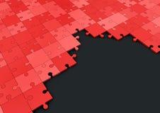 Κόκκινος γρίφος Στοκ Φωτογραφία