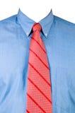 κόκκινος δεσμός πουκάμι&si Στοκ Εικόνες