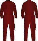 Κόκκινος επισκευαστής ομοιόμορφος διανυσματική απεικόνιση