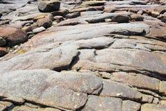 Κόκκινος ηφαιστειακός βράχος Στοκ εικόνες με δικαίωμα ελεύθερης χρήσης