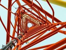 Κόκκινος ηλεκτρονόμος πόλων Στοκ Εικόνα