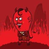 Κόκκινος διάβολος απεικόνιση αποθεμάτων