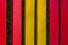 κόκκινος κίτρινος ανασκόπησης Στοκ Εικόνα