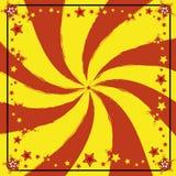 κόκκινος κίτρινος ανασκό& Στοκ Εικόνες