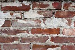 Κόκκινος κακός τοίχος τούβλων νέος Στοκ φωτογραφία με δικαίωμα ελεύθερης χρήσης