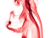κόκκινος καπνός Στοκ Φωτογραφίες