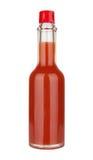 Κόκκινος - καυτή σάλτσα Στοκ φωτογραφία με δικαίωμα ελεύθερης χρήσης