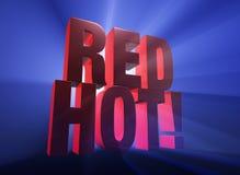 Κόκκινος - καυτός! Στοκ Εικόνες