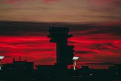 Κόκκινος - καυτό ATC Στοκ εικόνες με δικαίωμα ελεύθερης χρήσης