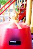Κόκκινος κινεζικός καυστήρας θυμιάματος Στοκ εικόνα με δικαίωμα ελεύθερης χρήσης