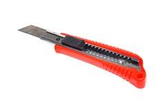 Κόκκινος κόπτης μαχαιριών Στοκ Φωτογραφία