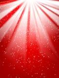 κόκκινος λαμπρός ανασκόπησης διανυσματική απεικόνιση