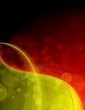 κόκκινος λαμπρός κίτρινο&sigm Ελεύθερη απεικόνιση δικαιώματος