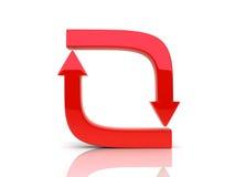 κόκκινος μαλακός κύκλων &b διανυσματική απεικόνιση