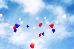 Κόκκινος & μπλε τρόπος ζωής στοκ φωτογραφία με δικαίωμα ελεύθερης χρήσης