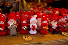 Κόκκινος νάνος hadmade Στοκ φωτογραφίες με δικαίωμα ελεύθερης χρήσης