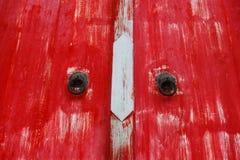 Κόκκινος ναός πορτών Στοκ Εικόνες